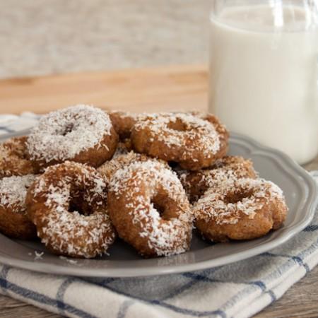 Grain Free Cinnamon Roll Donuts