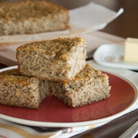 Banana Cake with Chia Seeds