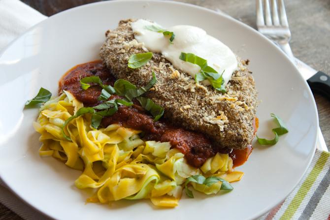 Grain Free Chicken Parmesan | simplerootswellness.com