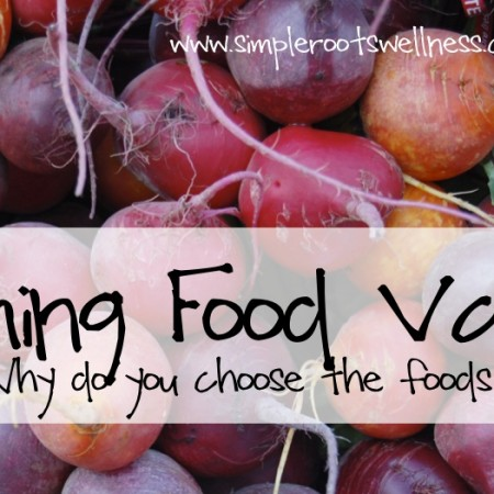 Forming Food Values