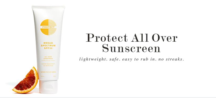 Protect Sunscreen by Beautycounter | simplerootswellness.com