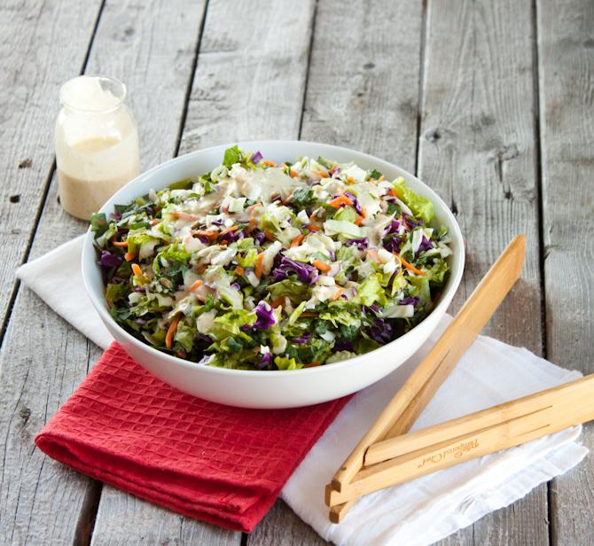 Sunflower Crunch Chopped Salad Remix | simplerootswellness.com