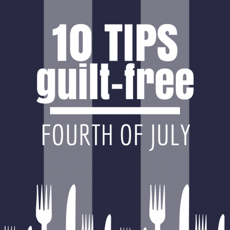 10 Tips for a Guilt Free Holiday