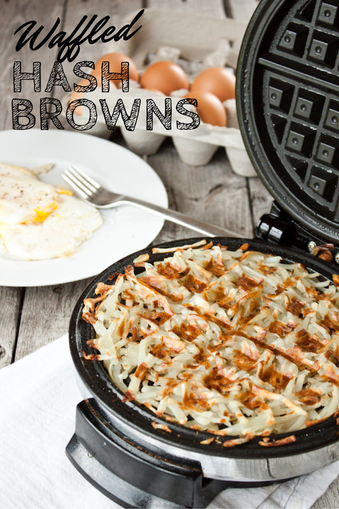 Waffled Hash Browns | simplerootswellness.com