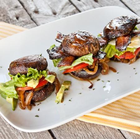 Portobello Sliders Three Ways {Vegan, Paleo, Traditional}