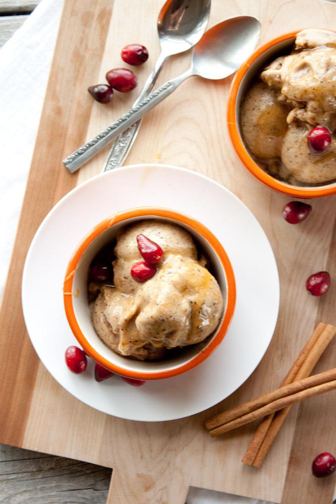Paleo Chai Ice Cream | simplerootswellness.com