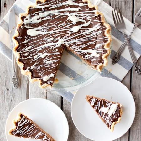 Paleo Double Chocolate Pumpkin Pie
