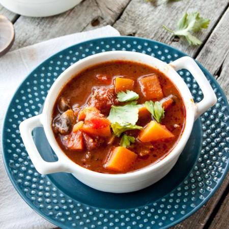 Paleo Sweet Potato Chili