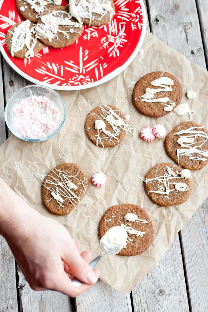 Paleo Crispy Ginger Cookies | simplerootswellness.com