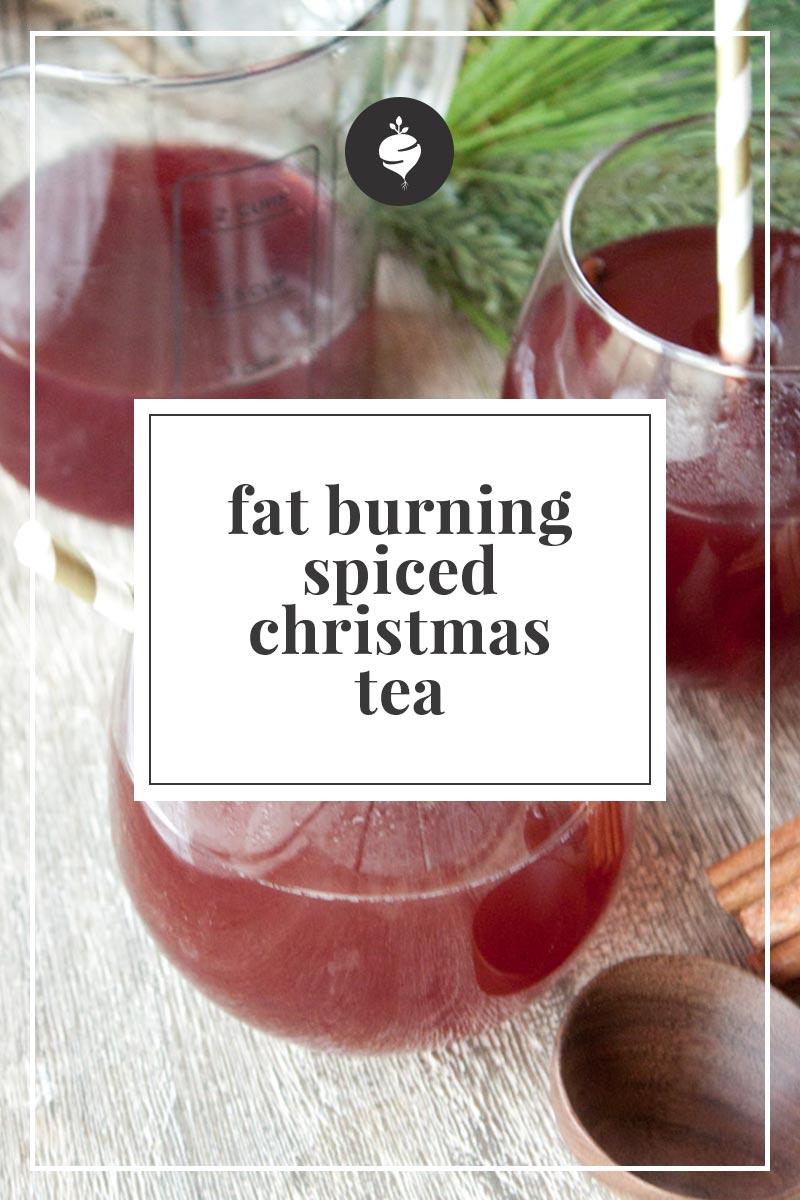 Fat Burning Spiced Christmas Tea | simplerootswellness.com