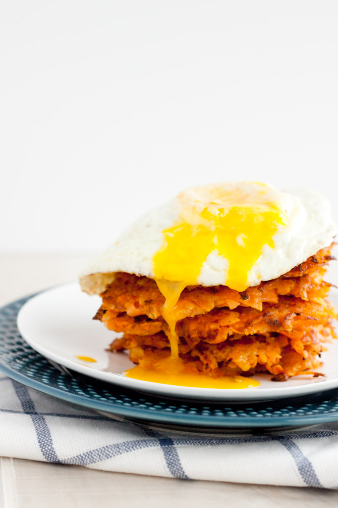 Sweet Potato Apple Hash Browns | simplerootswellness.com
