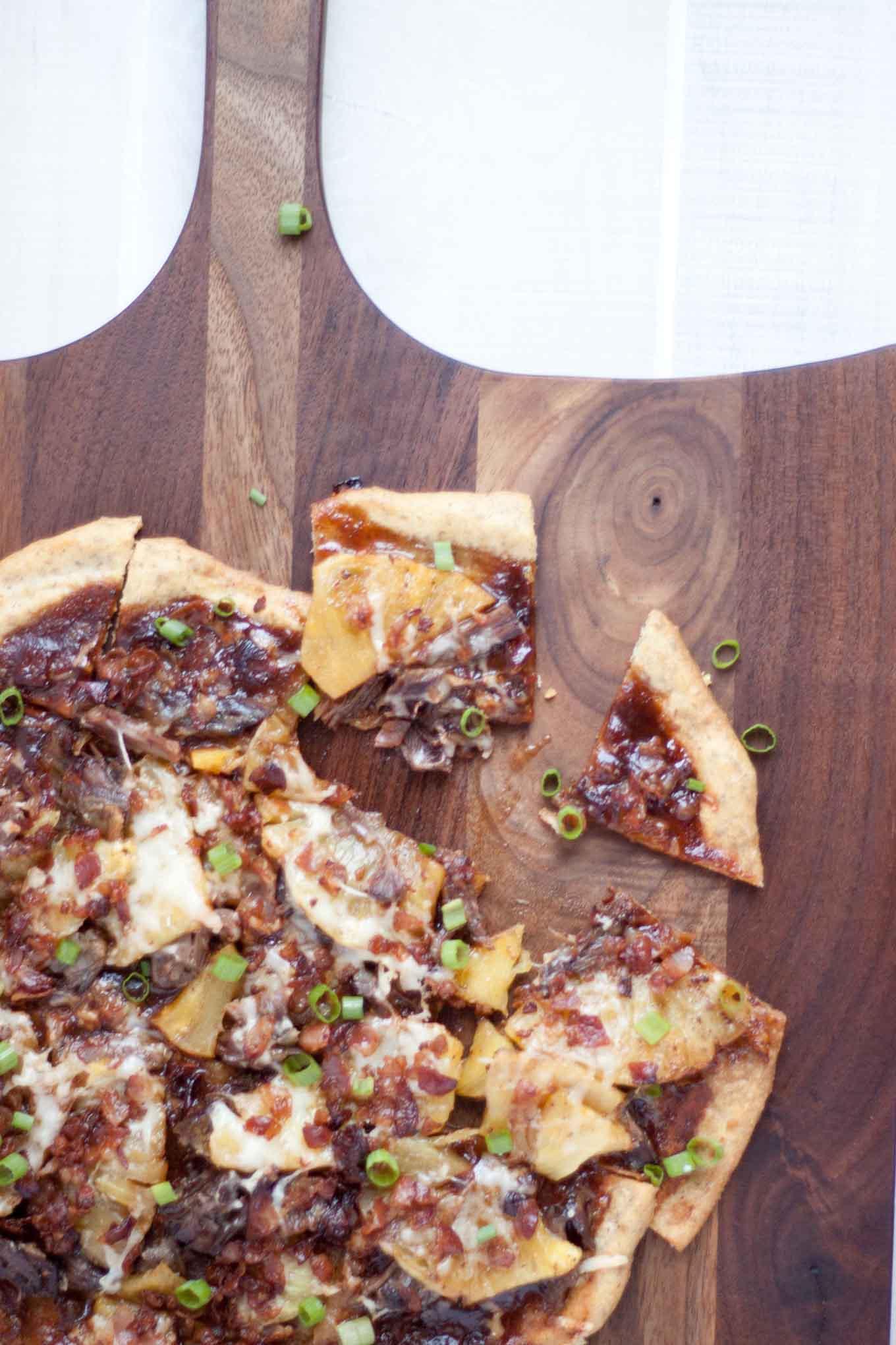Traditional Hawaiian Flatbread with Crispy Pancetta | simplerootswellness.com