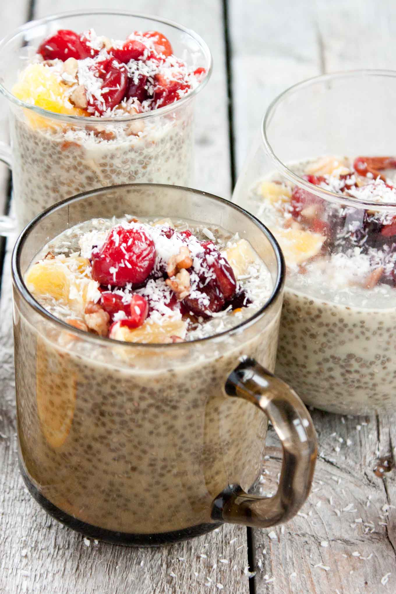 Orange Creamsicle Chia Seed Pudding | simplerootswellness.com