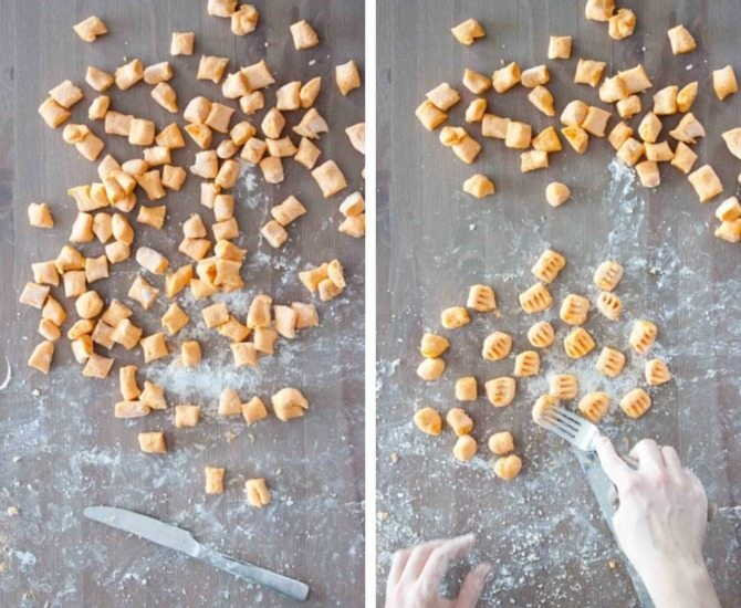3 Ingredient Sweet Potato Gnocchi | simplerootswellness.com