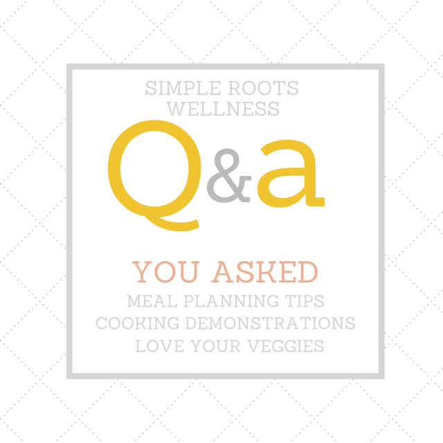 How to Love Vegetables, Meal Planning Tips & More | simplerootswellness.com