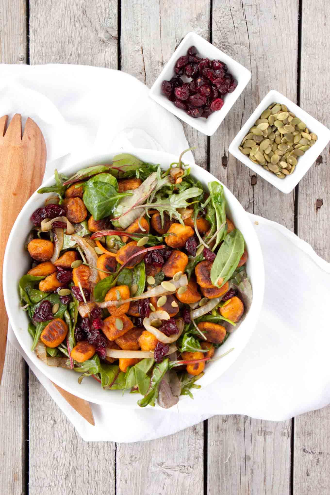 The Best Salad Ever | simplerootswellness.com
