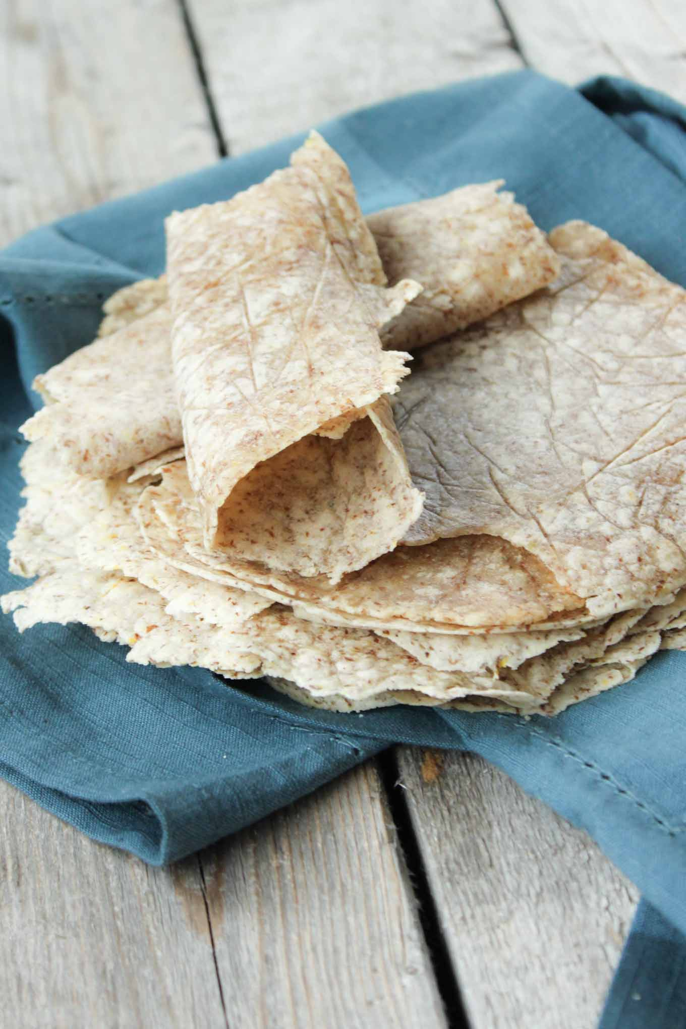 Grain Free Soft Tortilla Shells | simplerootswellness.com