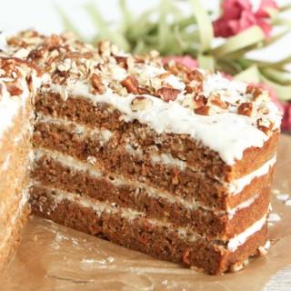 Paleo Spiced Carrot Cake
