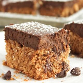 Grain Free Brownie Cookie Bars