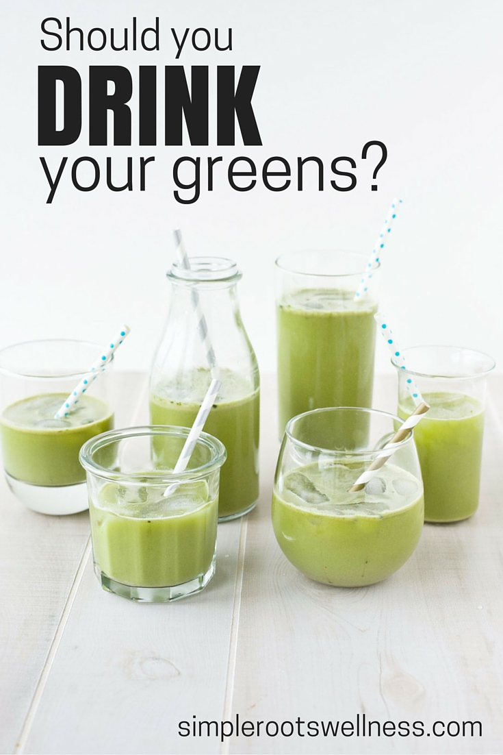 We all want a quick fix but is drinking your greens the answer?
