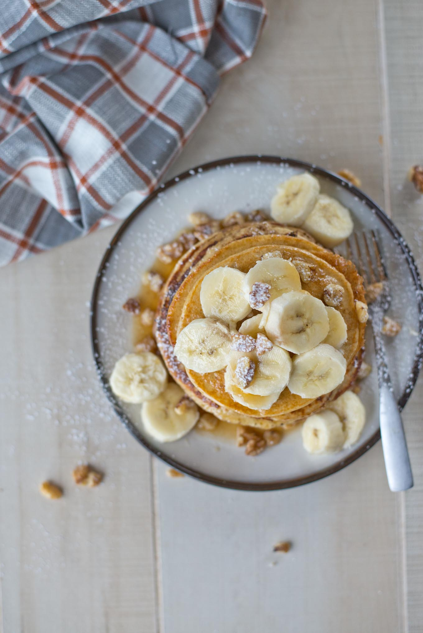 The quickest and fluffiest pancakes you'll ever have. Ready in just 10 minutes.