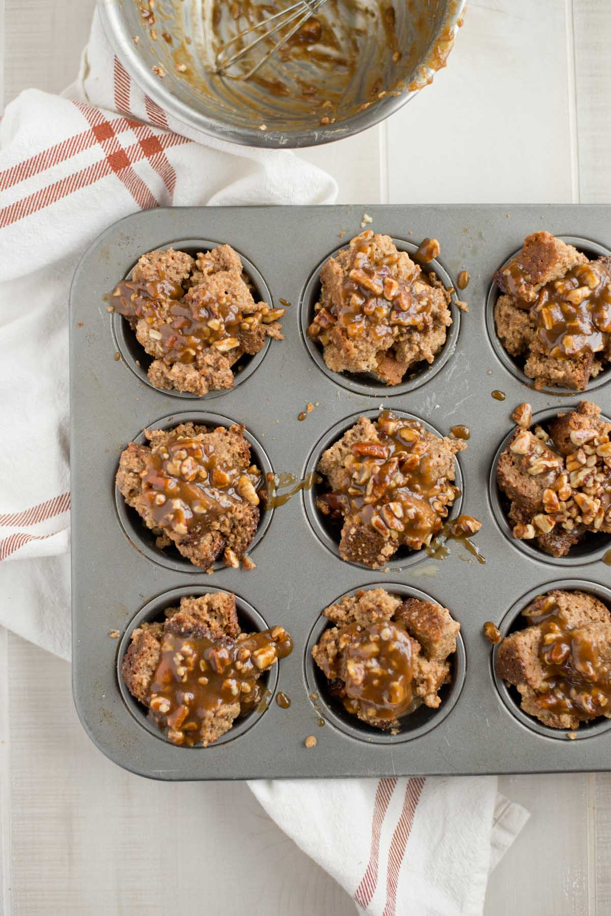 Change up breakfast with these quick, easy and on-the-go banana bread french toast cups