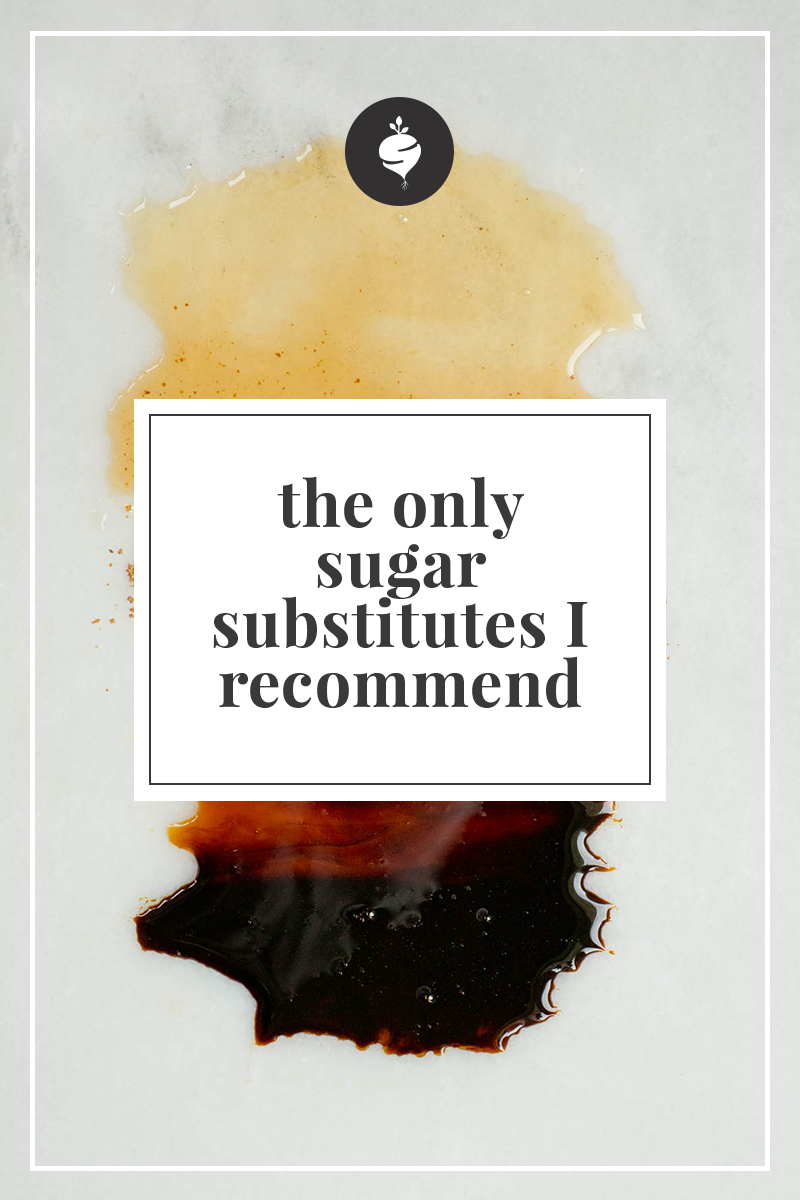 The Only Sugar Substitutes I Recommend