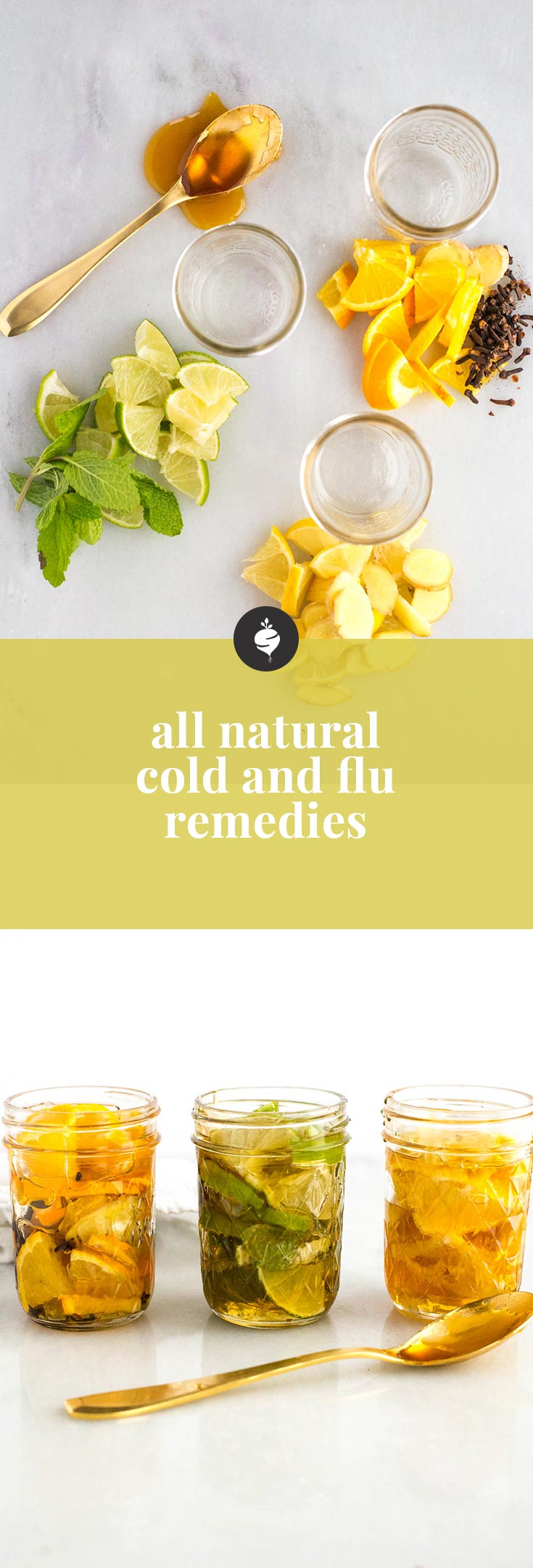 The only all natural cold and flu remedy you need and made from ingredients you have at home.