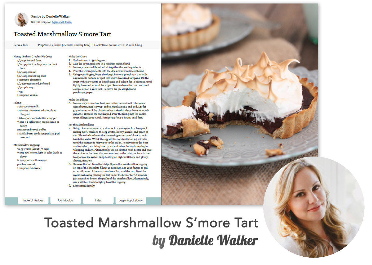 This recipe from Danielle Walker is exclusive to the Best of Paleo 2015 Cookbook.