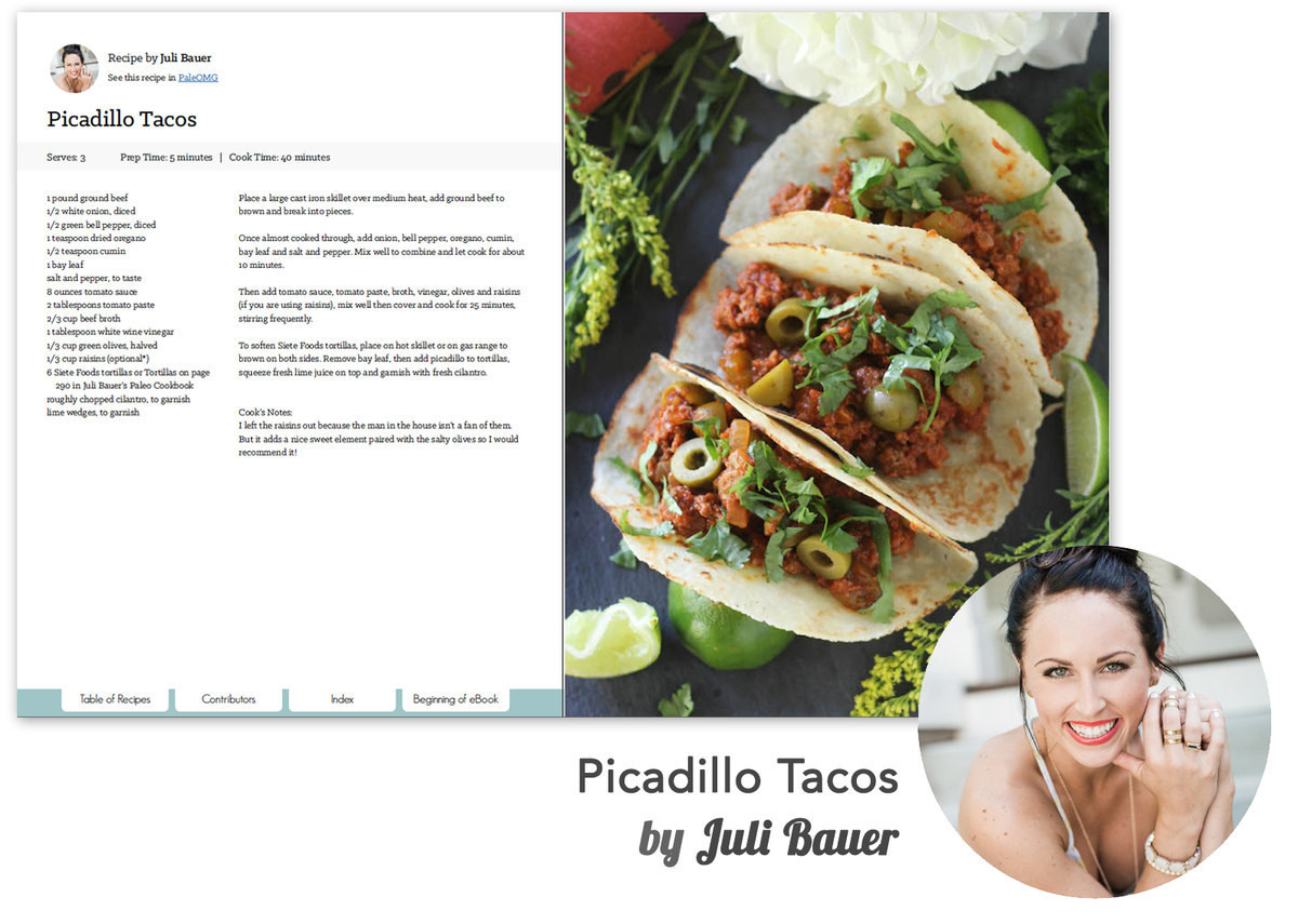 This recipe from Juli Bauer is exclusive to the Best of Paleo 2015 Cookbook.