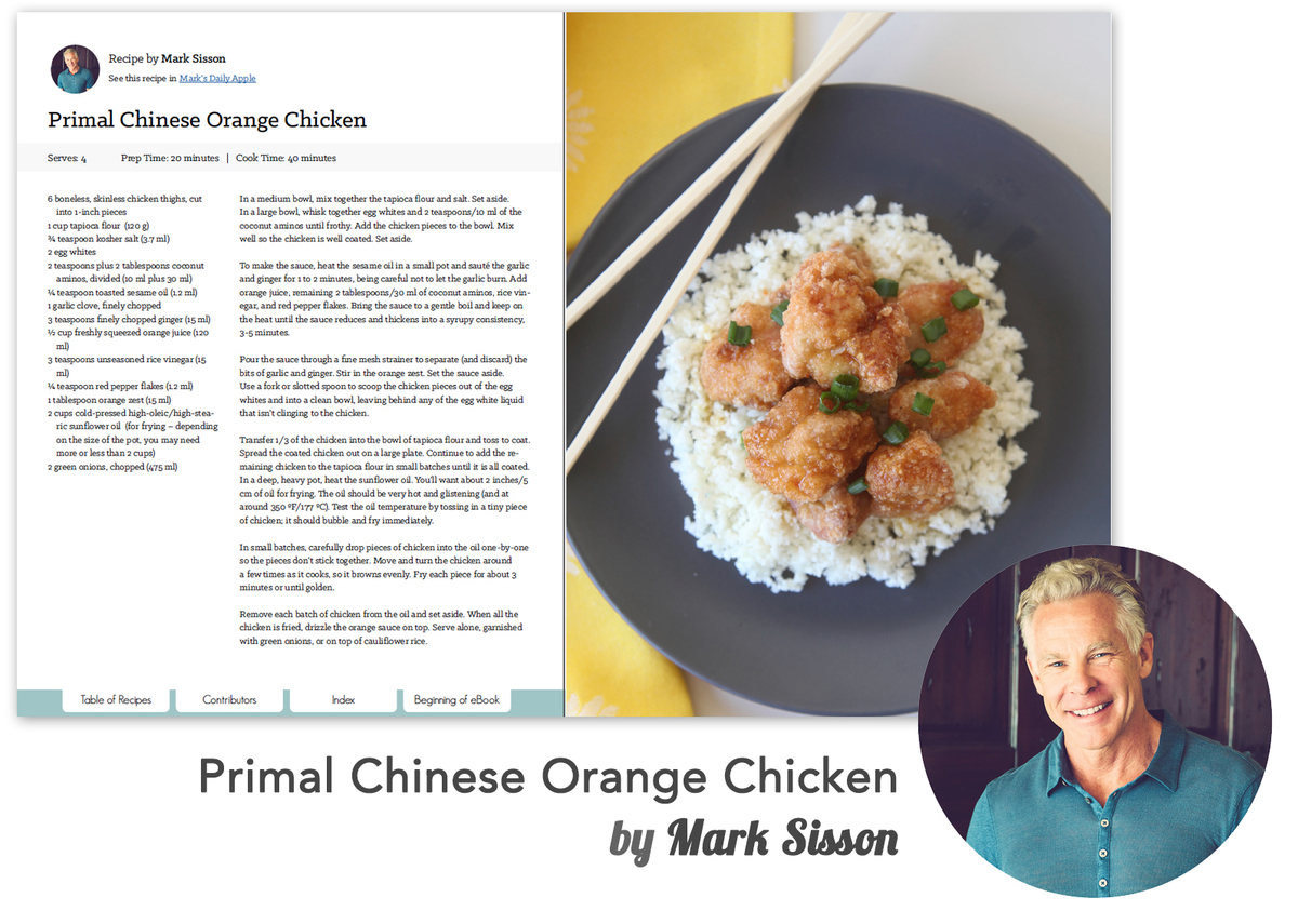 This recipe from Mark Sisson is exclusive to the Best of Paleo 2015 Cookbook.