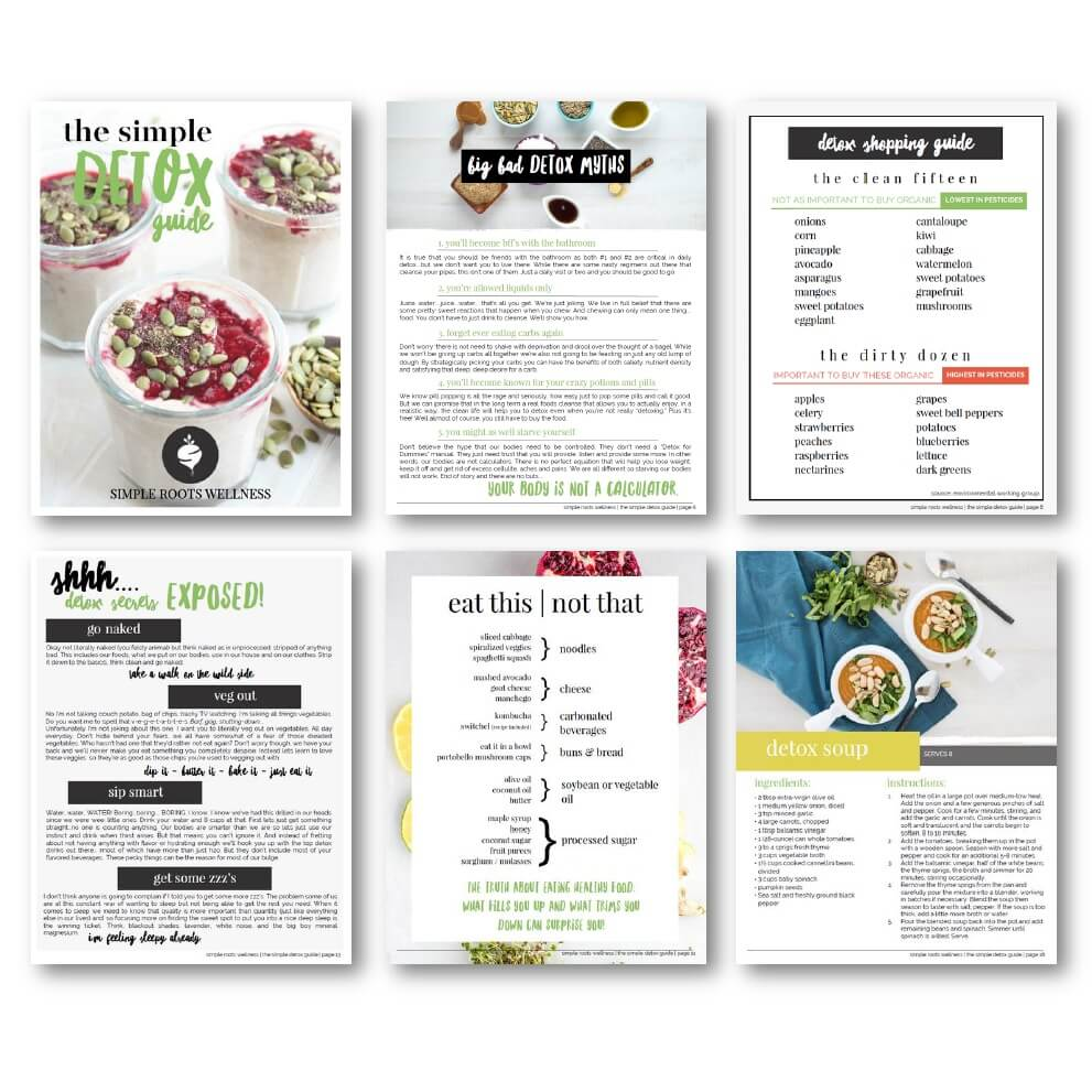 Download the Simple Detox Guide