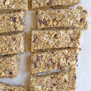 Chewy No-Bake Gluten Free Granola Bars