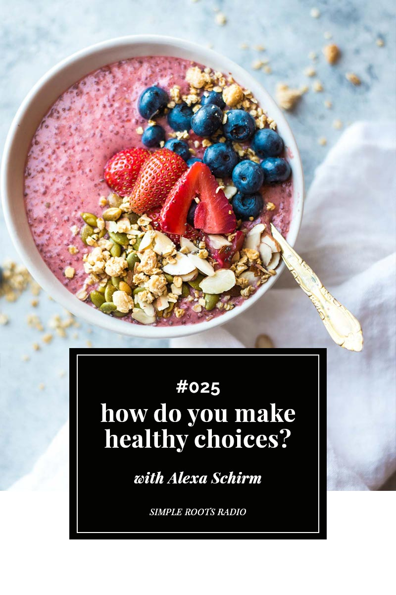 Making healthy choices can seem overwhelming and complicated. But check out these ten easy things you could do to make healthy come easy.