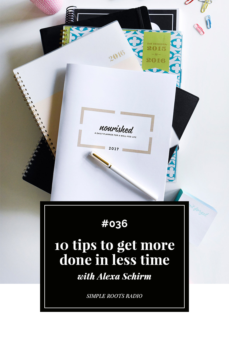Feeling crunched with time? Check out these 10 tips to get more done in less time.
