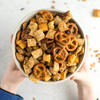 Cinnamon Maple Healthy Sweet Chex Mix