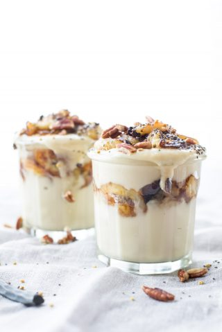 Trying to cut back on sugar? This superfoods pudding made with coconut milk will satisfy every craving.