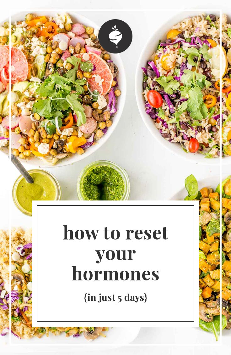 The simple way to reset your hormones in just five days.