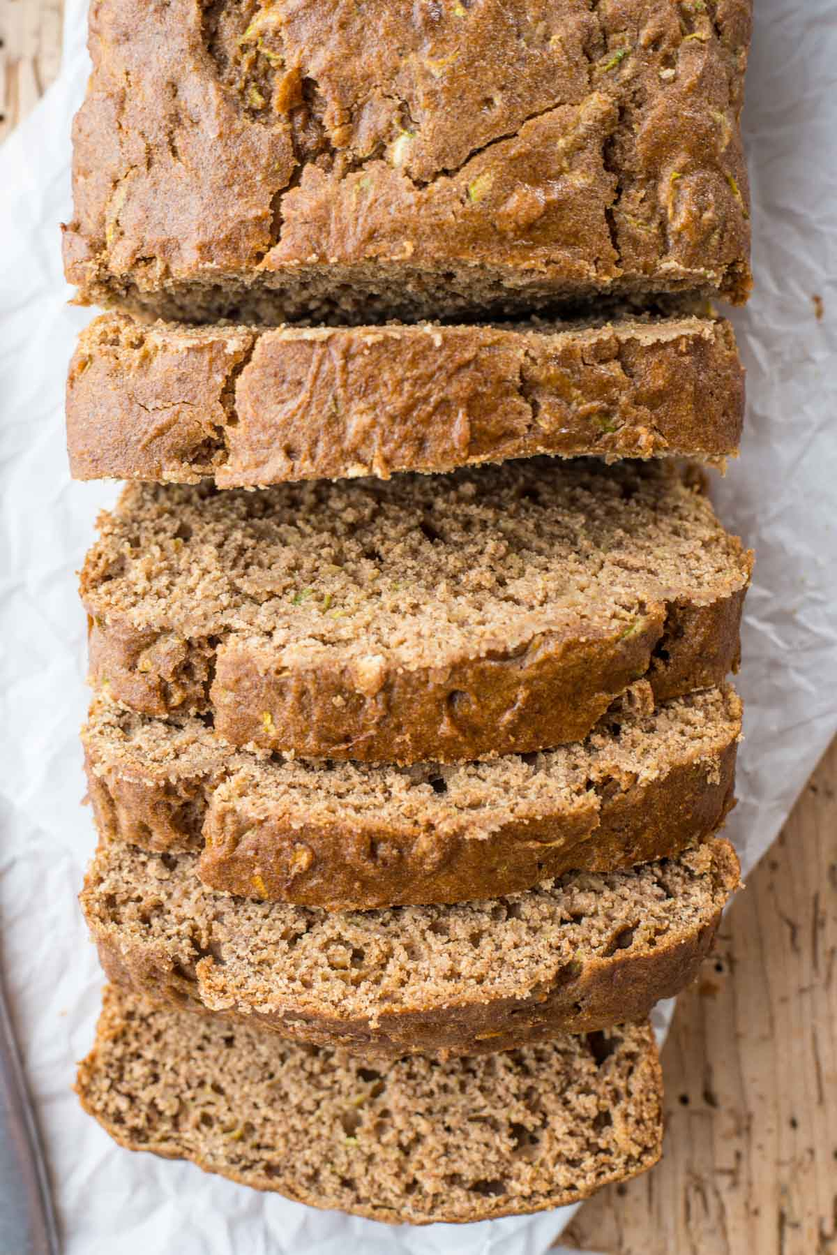 Try this high fiber, high protein spiced gluten-free zucchini bread with this easy recipe.