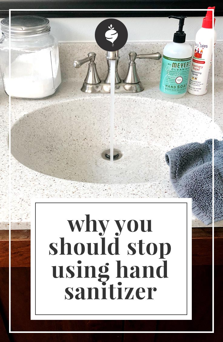 why you should stop using hand sanitizer | simplerootswellness.com #podcast #immunebooster #health #cold