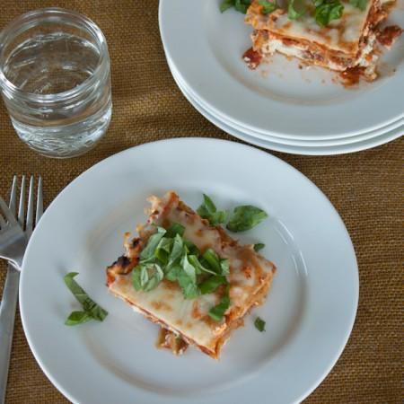 Top Secret Grain Free Lasagna
