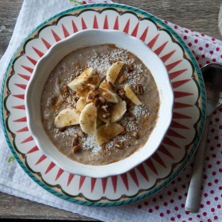 Amazing Banana Breakfast Porridge