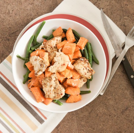 Savory Chicken and Green Bean Salad