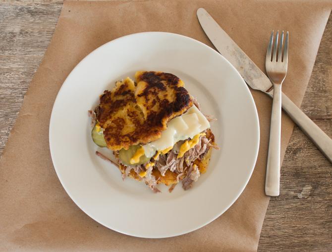 Grain Free Cuban Sandwich | simplerootswellness.com