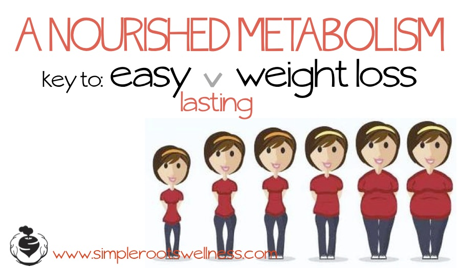 The Keys to Easy and Lasting Weight Loss | simplerootswellness.com