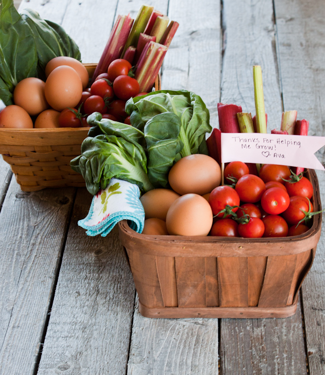 Produce Gift Baskets | simplerootswellness.com