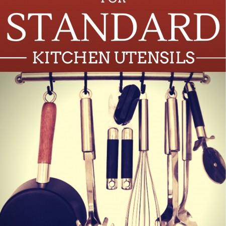 New Uses for Kitchen Utensils
