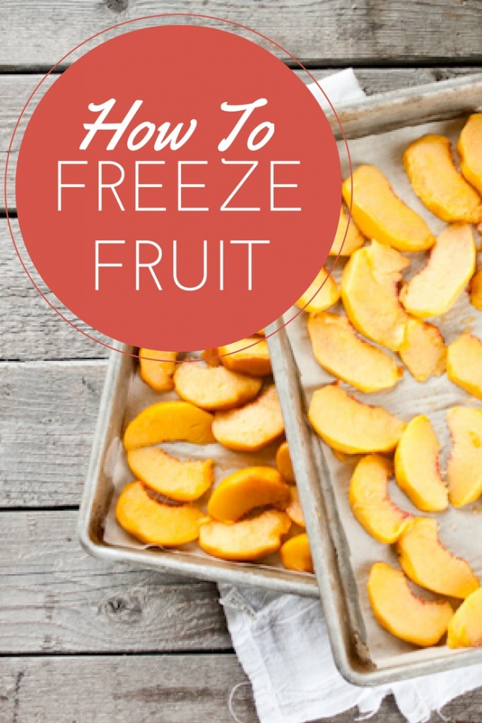 How To Freeze Fruit | simplerootswellness.com