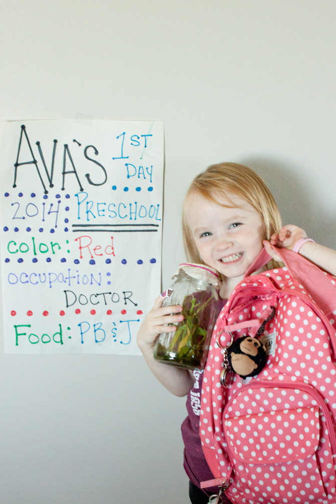 Ava First Day Preschool | simplerootswellness.com