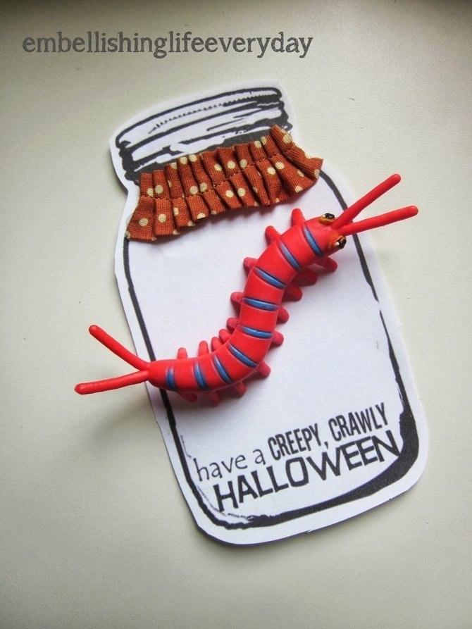 Creepy Crawly Halloween Handout